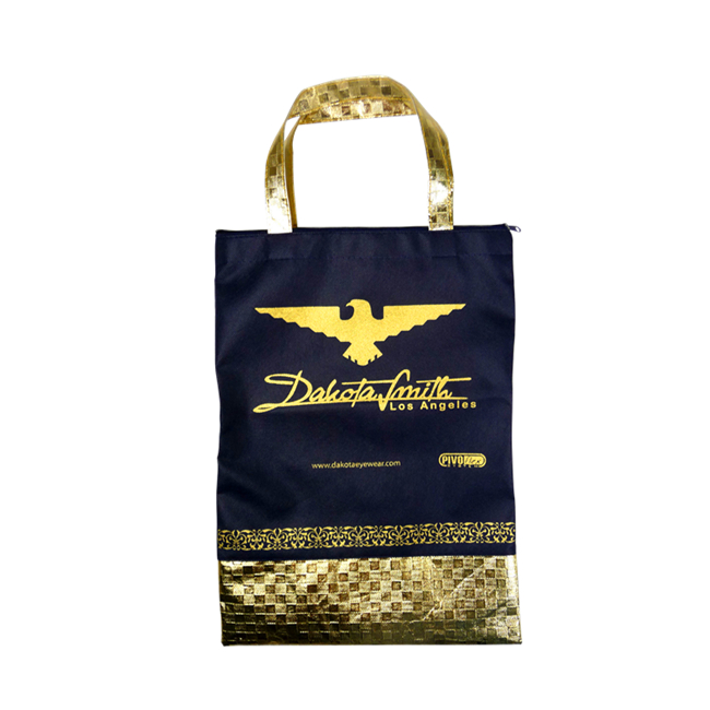 Gold Nonwoven Gift Bag
