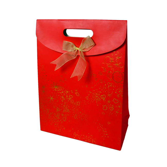 Red Gift Paper Bag